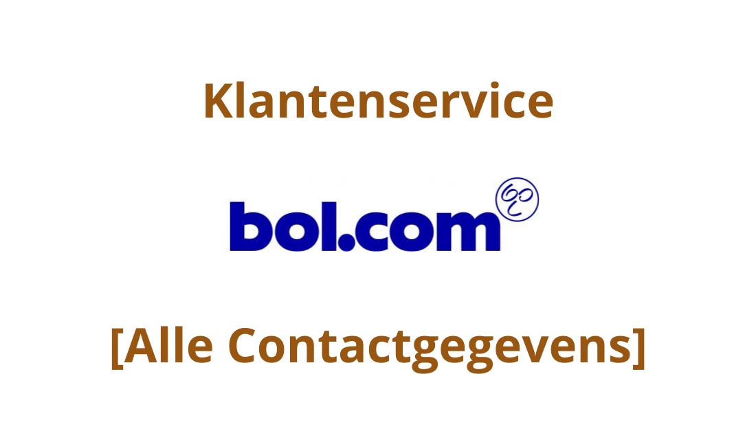 Bol.com Contactgegevens & Klantenservice: Email, Bellen & Meer