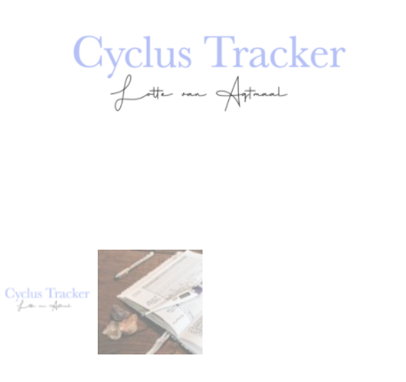 cyclus tracker lotte van agtmaal