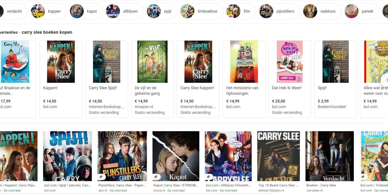 Alle Boeken Van Carry Slee [En De Top 10 Beste & Bekendste]
